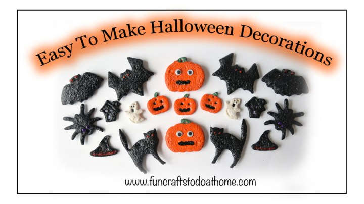 easy diy halloween decorations