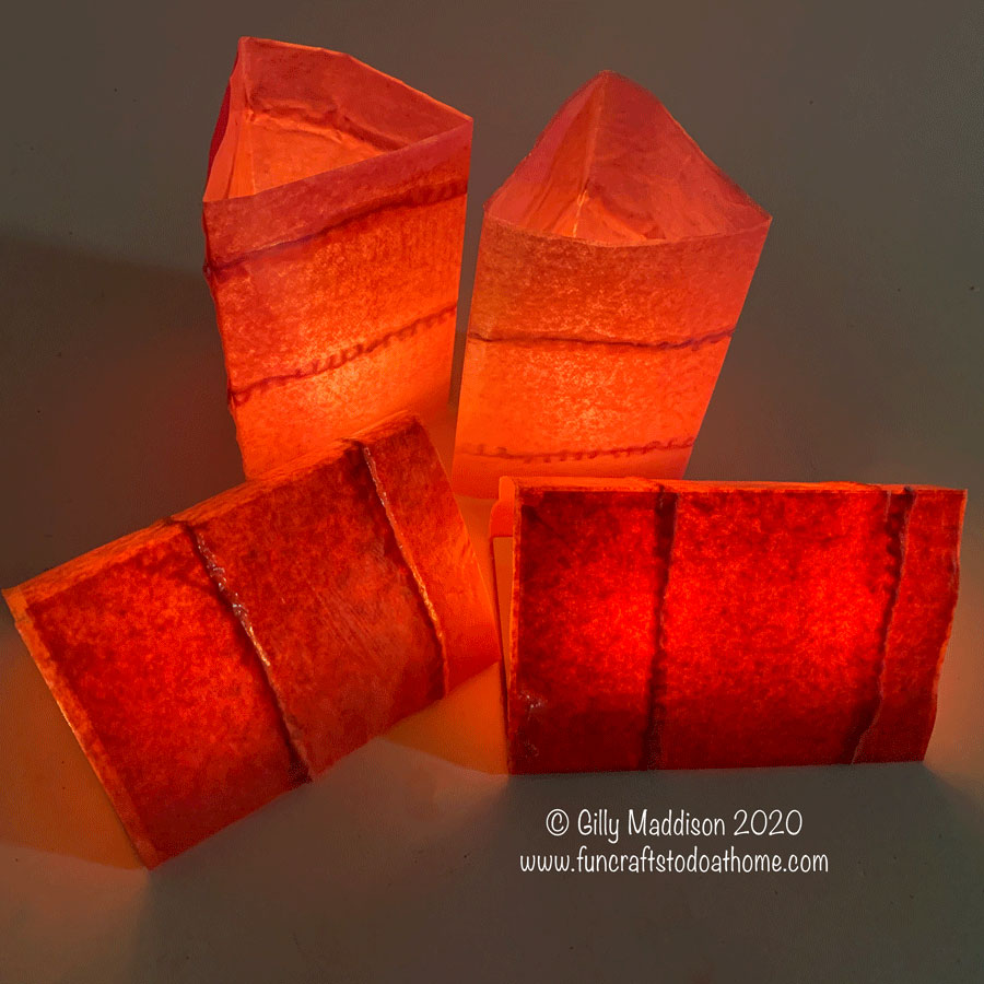 How To Make Tissue Paper Light Shades