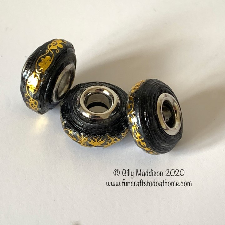 how to make european style beads