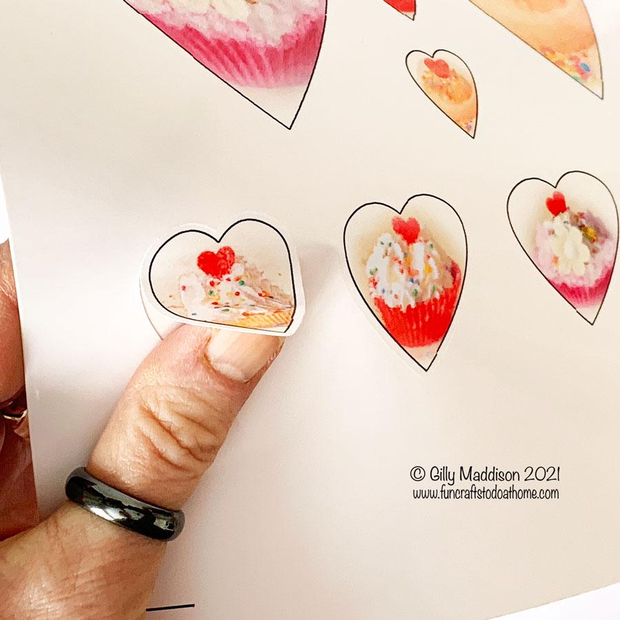free printable cupcake images