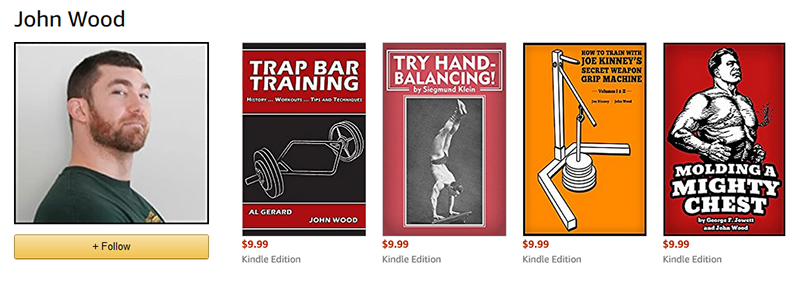 Amazon Author Page for John Wood