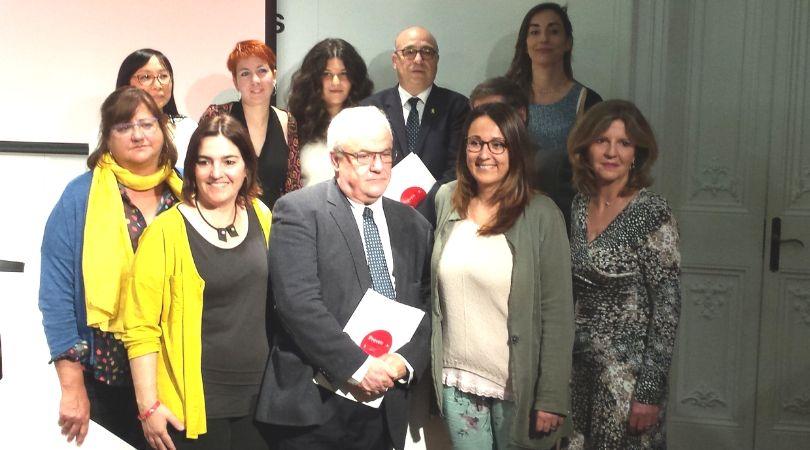 Foto de l'equip de PrevenSI:   Institut de Psicologia Forense, l'Institut Intress i la Fundació IRES