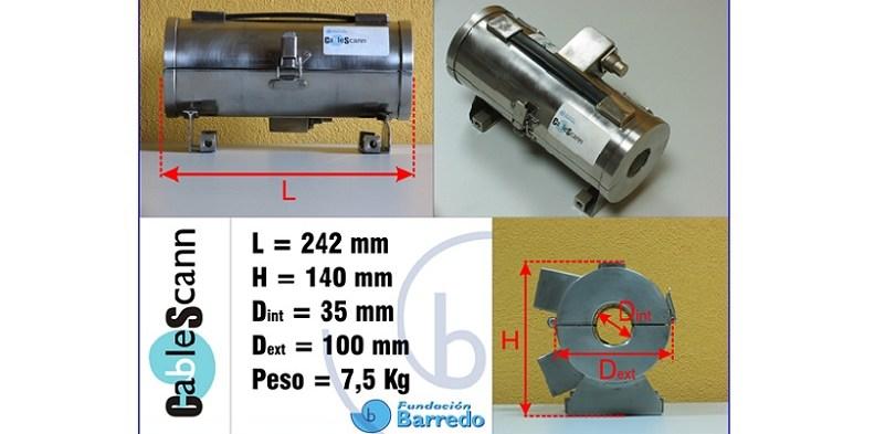 """Cabezales magneto-inductivos y software """"CableScann"""", año 2008"""