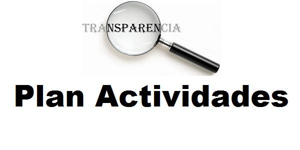 Plan de actividades para el 2015