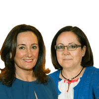 Mª Jesús Moro y Edurne Uriarte