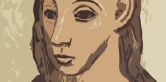 Cabeza de mujer joven