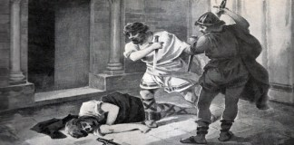 El asesinato de Ataúlfo (Ramir Lorenzale, pintura)