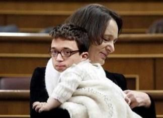 Errejón, protagonista de los mejores 'memes' por su juventud y sus 'celos' del bebé de Bescansa