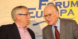 Fernández Toxo y Nicolás Sartorius | FOTO: Nueva Economía Fórum