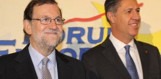 Mariano Rajoy y Xavier García Albiol | Foto: Nueva Economía Fórum