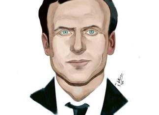 "Macron (Ilustración: ""i"" latina 2017)"