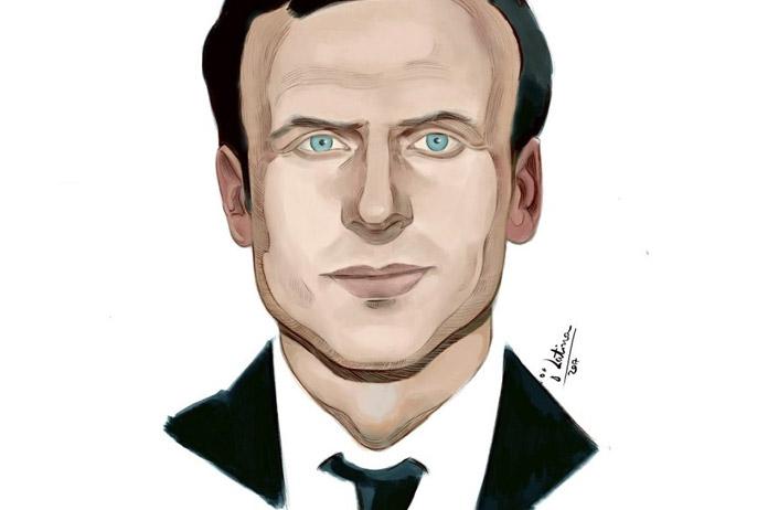Macron (Ilustración:
