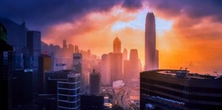 Skyline de Hong Kong