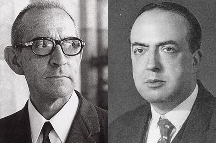 Salvador Espriu y Josep Carner