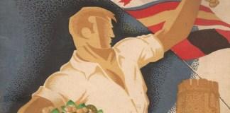 Cartel Ferias y Fiestas San Sadurni de Noya 1943