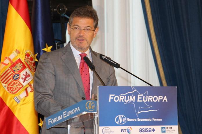 Rafael Catalá en el Fórum Europa