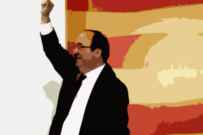 Miquel Iceta en las elecciones catalanas