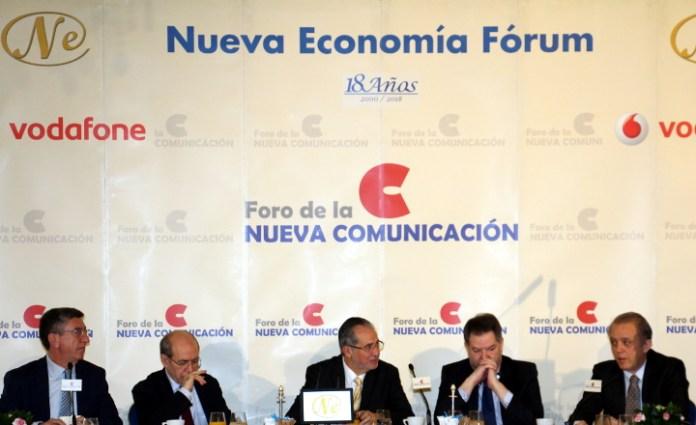 Foro de la Nueva Comunicación con el Presidente Editor de El Nacional, Miguel H. Otero