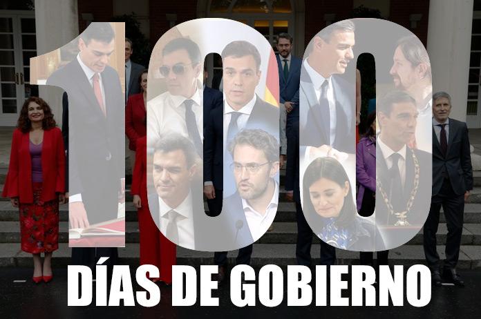 100 días de gobierno de Sánchez