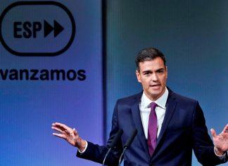 Pedro Sánchez en la Casa América