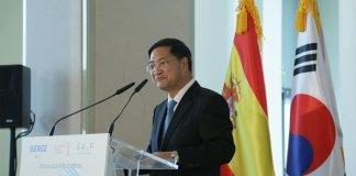 Hong-jo Chun, embajador de Corea del Sur