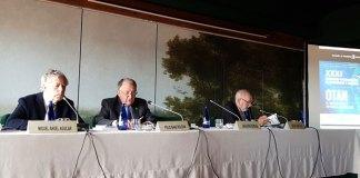 Sanz Roldán en el Seminario Internacional de Seguridad y Defensa