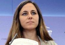 Ione Belarra, portavoz de Unidas Podemos