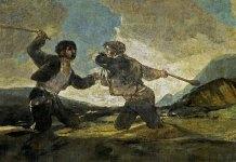 Duelo a garrotazos, Francisco de Goya