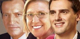El centro político desde la Transición