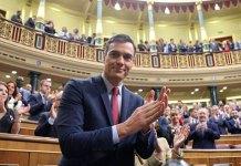 Sánchez investido presidente