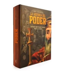 """Portada del libro """"La historia del Poder"""" de Abel Cádiz"""