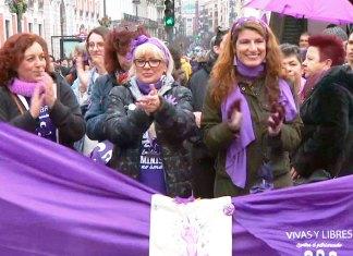 Manifestación feminista del 8 de febrero de 2020