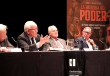 """Presentación de """"La historia del poder"""" en el Corral de Comedias de Alcalá de Henares"""