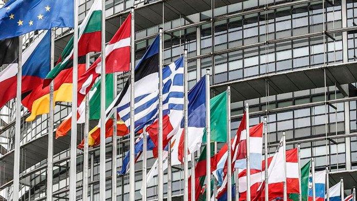 Banderas del Parlamento Europeo