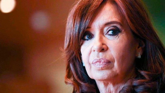 Cristina Fernández de Kirchner vicepresidenta de Argentina