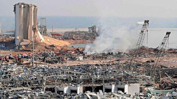 Explosión en el puerto de Líbano