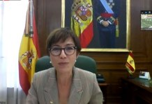 María Gámez, directora general de la Guardia Civil