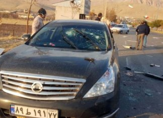 Asesinado el padre de la bomba atómica iraní