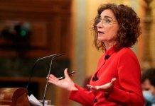 La ministra de Hacienda contra unos Presupuestos Generales del Estado de consenso