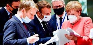 Líderes europeos