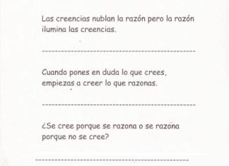 Frases para razonar