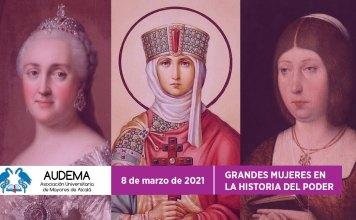 Grandes mujeres en la historia del poder