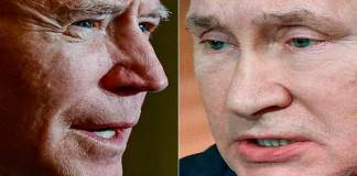 Putin y Biden se muestran los dientes en el mar Negro