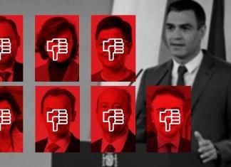 Reventó el Gobierno de Sánchez