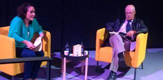 Segura Clavell en la feria del libro de Las Palmas de Gran Canaria