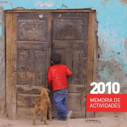 Memoria actividades fundación esycu 2010