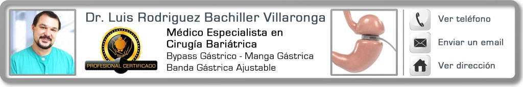 Dr Luis Rodriguez Bachiller experto obesidad