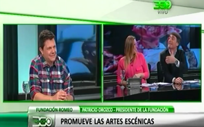 Nota en noticiero 360TV