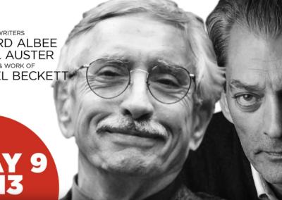 Edward Albee & Paul Auster hablan sobre Samuel Beckett (Inglés)