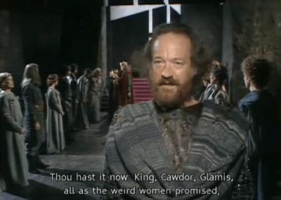 Macbeth – BBC TV – (Inglés)